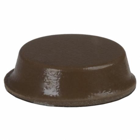 3M™ SJ-5012 Bumpon adhésif brun hauteur 3.5mm diamètre 12.7mm