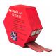 3M™ SJ-356D Klettband Transparent 25mmx5m