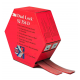 3M™ SJ-356D Velcro tape transparent 25mmx5m