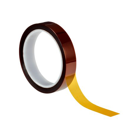 3M™ 5413 adhesive tape polyimide amber 9mmx33m