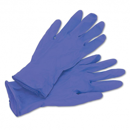Gloves nitrile powder free size L AQL 0.65