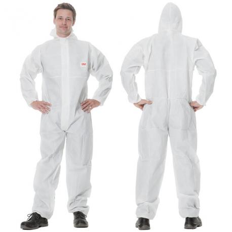 3m 4505w Combinaison De Protection Couleur Blanc Alco Shop