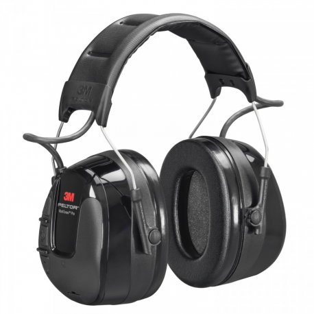 3M™ Peltor™ HRXS7A-01 casque FM radio rouge SNR 31dB