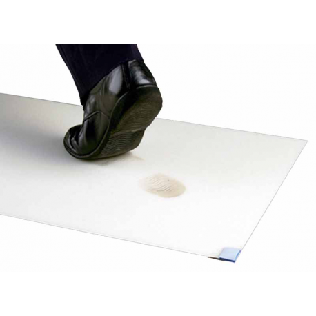 3M™ Nomad™ tappeto Ultra Clean fogli adesivi 6x40 bianco 115 x 60cm