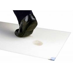 3M™ Nomad™ 4300 Tapis Ultra Propreté blanc adhésif 4x60 feuilles 115 x 60cm