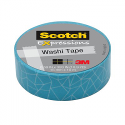 Scotch® Expression Creative Blue Scale 15mm x 10m