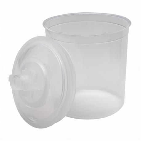 3M™ PPS™ 16000 coppa interna + coperchio (650 ml) - 125 microns