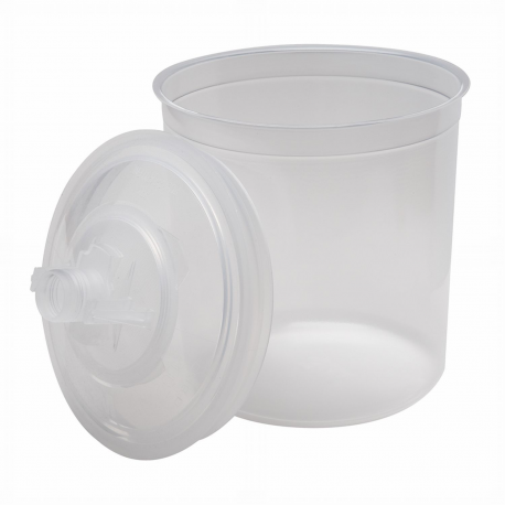 3M™ PPS™ 16000 inner cup + lid (650 ml) - 125 microns