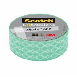 Scotch® Expression Creative Menthe 15mm x 10m