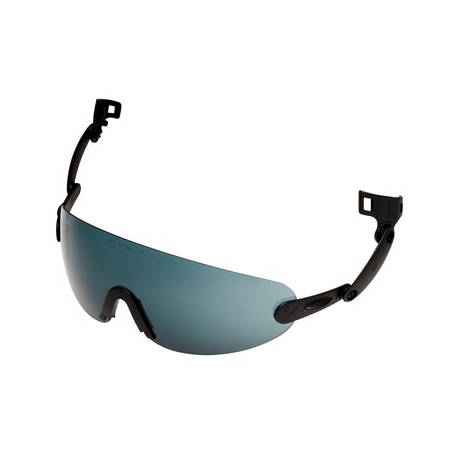 3M™ V6B Built-In Glasses PC Gray Anti-Fog