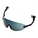 3M™ V6B Built-In Glasses PC Gray Anti-Fog