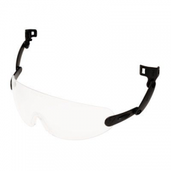 3M™ V6E Built-In Glasses PC colorless Anti-Fog