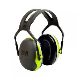 3M™ PELTOR™ X4A X Series Cuffie con cancellazione del rumore Hi-Viz SNR 33dB