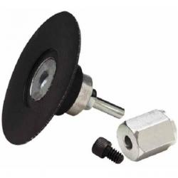 3M™ 05540 Roloc™ Supporto rigido 75mm Clean and Strip™ con gambo e dado