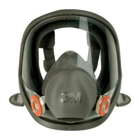 3M™ 6900 Masque complet en caoutchouc siliconé, à entretien limité - large