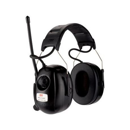 Cuffie radio 3M™ PELTOR™ HRXD7A-0131 dB con cuffia con banda radio DAB+/FM