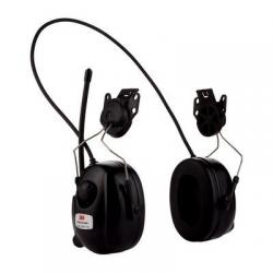 Casque radio 3M™ PELTOR™ HRXD7P3E-01 DAB+/FM, 30 dB, version montée sur casque