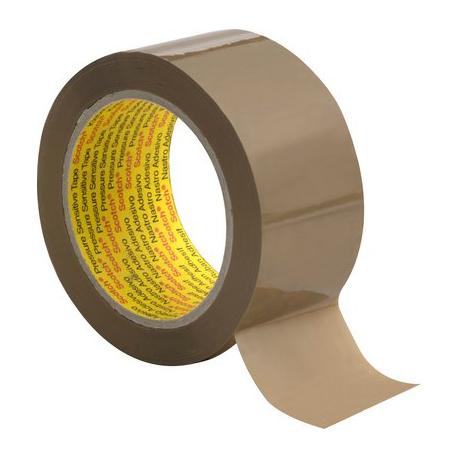 3M™ Scotch® Performance PVC Box Sealing Tape 6890 50mmx66m