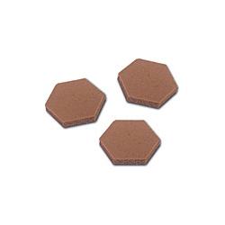 3M™ SJ-5202 Bumpon adhésif brun 132 pce/box