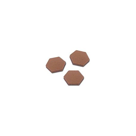3M™ SJ-5202 Bumpon adesivo marrone altezza 1.6mm diametro 11mm