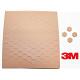 3M™ SJ-5202 Bumpon adhésif brun hauteur 1.6mm diamètre 11mm