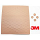 3M™ SJ-5202 Bumpon brown adhesive height 1.6mm diameter 11mm