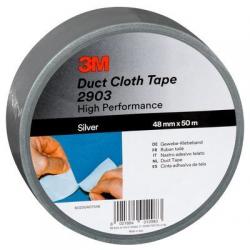 3M™ 3903 Vinyl Duct Tape blanc 50mmx50m