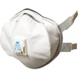 3M™ 8825 - FFP2 Masque antipoussière coque Premium avec soupape Coolflow™ 5 pce/box