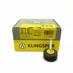 Ruota lamellare Klingspor KM 613 P40 40x20x6mm