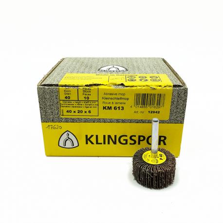 Klingspor KM 613 roue à lamelle P60 80x30x6mm