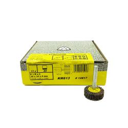 Klingspor KM 613 flap wheel P60 30x10x6mm