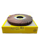 Klingspor SM 611 flap wheel P120 250x25x68mm