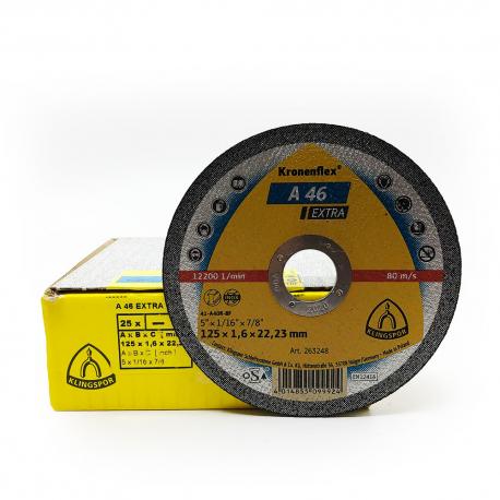Klingspor cutting disc A46 Extra 125x1.6x22mm