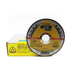 Disco da taglio Klingspor A60 Extra 115x1x22mm