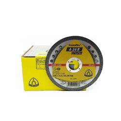 Klingspor disque à tronconner A24R Supra 125x2.5x22mm