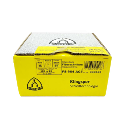 Klingspor disque fibre FS964 ACT P36 125 x 22 mm