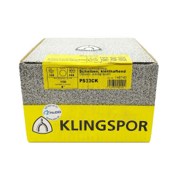 Klingspor PS33CK disque Hookit P120 150mm
