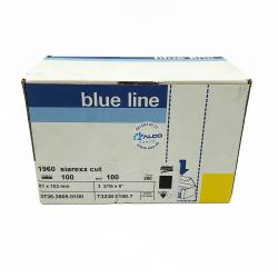 Siarexx schnitt 1960 Feuille-Schleifmittel hookit P100 81x153 mm