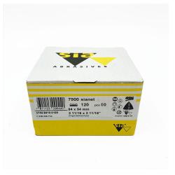 SIANET 7900 Schleifblatt hookit P120 94x94 mm