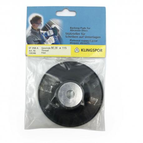 Klingspor ST 358A pad pour disque fibre dur 125 mm