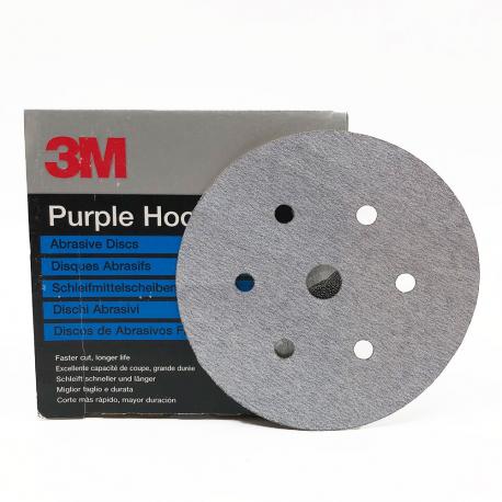 3M 50217 734U disque Hookit P120 150mm 6 trous