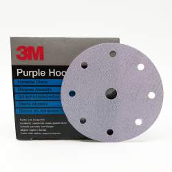 3M 50228 734U Hookit disc P120 150mm 9 holes