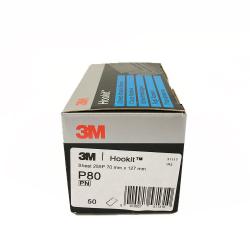 3M 255P foglia Hookit P80 70x127 mm
