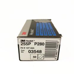 3M 255P sheets Hookit P280 70x127 mm