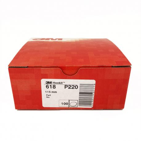 3M 618 Hookit disc P220 115mm