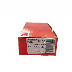 3M 245 dischi foglia P100 93x175 mm 8 fori