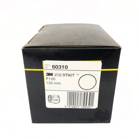 3M 60310 212 StickIt disc P100 150mm