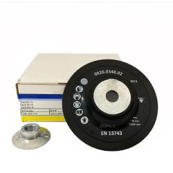 Plateau support 9091 115mm M14 pour disques fibre M14