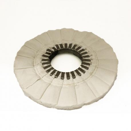 Disco per lucidare tele Molleton 250/25 mm