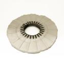 Canvas polishing disc Molleton 250/25 mm